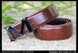 Hot Sales mens male casual cow genuine leather plate buckle black brown colour belt Wholesale