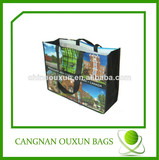 eco friendly high quality laminated pp woven shopping bag, promotion pp woven shopping bag, woven pp shopping bags
