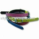 hottest PVC belting for girls