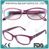 Latest Design Acetate Eyeglasses Frames Optics Reading Glasses for women
