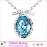 Jewelry Wholesale Jewelry Aquamarine Crystal Capricorn Necklace