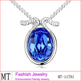 Free Shipping New Arrival Sapphire Crystal Capricorn Necklace