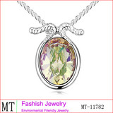 New Arrival Crystal Capricorn Necklace Fancy Necklace Design