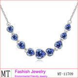 2014 New Coming Crystal Heart Jewellery Necklace