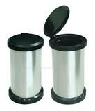 18L Foot Sensor Stainless Steel Automatic Trash Bin