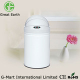 Touchless Colorful-painting Iron Sensor Garbage Cans