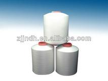 100% Polyester yarn FDY yarn raw white
