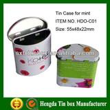 Good grade mint tin can metal tin can