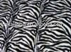 zebra print velboa fabric