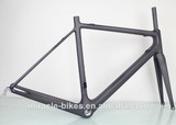 2014 Hotest Toray T800 road carbon fiber racing frame,Di2 UD matt carbon bicycle frame fork seatpost china wholesale