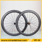 Chinese carbon cheap 56mm wheels,UD matte wheel carbon bicycle cheap clincher