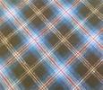 100%cotton yarn dyed flannel shrit fabric