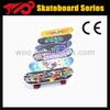 4 wheel maple wood skateboard