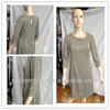 New design long-sleeve dress bead design dress