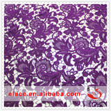 Water solution lace fabric