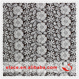 New flower lace wedding dress patterns fabric light lace machine embroidery designs lace