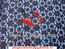 2014 new design 100% cotton lace black flower cotton fabric lace