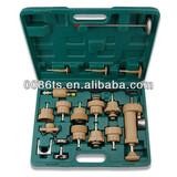 TY9001 tianyou radiator pressure tester, Auto Cooling System Radiator Color Cap Pressure Tester Kit Pump Gauge Adapter