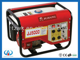 WK5000 2kw protable gasoline generator 6.5hp hand start
