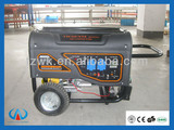 Factory direct 2kw-6kw ZANCO gasoline / petrol generator, electric start with battery, home use