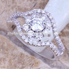 Dubai wedding rings gold plated jewelry wholesale alibaba