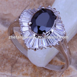 prince rings black stone rings for women diamond cocktail party ring