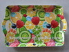 Plastic handle fruit tray