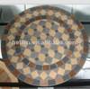 outdoor patio furniture,leisure furniture garden set ceramic tiles mosaic table metal round table