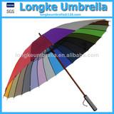 Rainbow Straight Umbrella Shangyu Longke