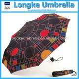 Fashion Lady Umbrella 3-fold Umbrella
