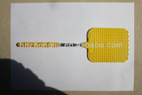 Telescopic fly swatter with stainless steel