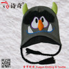 2013 winter SQ cute animal pattern knitted earflap hat