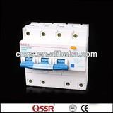 DZ47LE-100 D100a rccb circuit breaker din rails