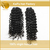 Enough Stock Most Fashion brazilian remy curly hair weft