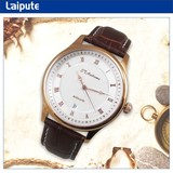 2014 japan movt quartz watch stainless steel back fashion watches men