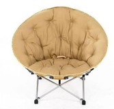 moon chair folding moon chair with big size