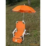folding chair with umbrella kids beach chair