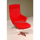 CHAIR WITH OTTOMAN /SWIVEL CHAIR SET
