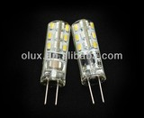 G4 1.5W, 3W LED silicon lamp, G4 220V LED Lamp, G4 SMD led lamp,220v