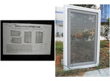 Vinyl Window with screen for American market wholesales (TS-389)
