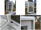 UPVC Windows, Window Door (TS-394)