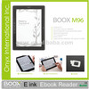 multiple ebooks formats supported Onyx Boox 9.7 inch ebook reader M96