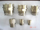 nickle plated brass pipe fitting