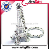 Artigifts hot sale metal eiffel tower keychain