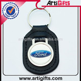 Custom design leather ford key chain