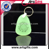 Wholesale cheap glow in the dark keychain