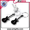 Artigifts promotion cheap metal mini guitar keychain