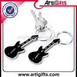 Artigifts promotion cheap metal mini guitar keychain