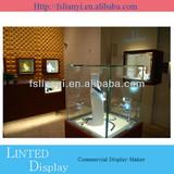 2013 Newest fashionable wood showcase designs/wooden display showcase design