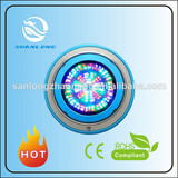 New design stainless steel surfaced mounted hanging ceiling type 8-33W IP68 led pool light remote control